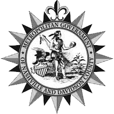 Metropolitan Government of Nashville and Davidson County Tennessee Official Seal